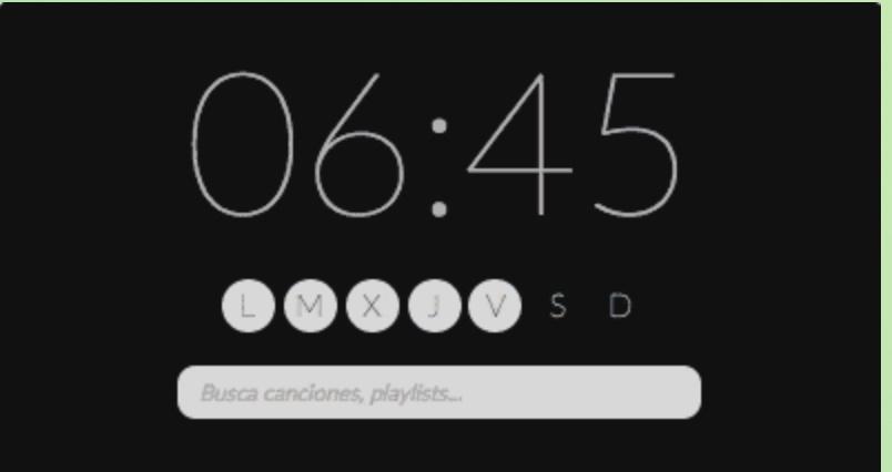 photo image Wakefy turns your Mac into a Spotify alarm clock