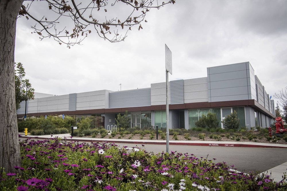 Apple's screen development and manufacturing facility in Santa Clara, California, on March 15, 2018.Source: Bloomberg