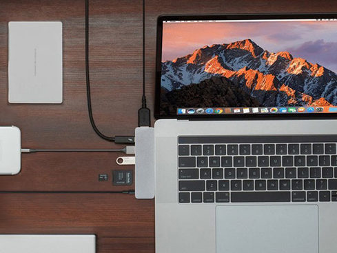 Have a MacBook Pro or MacBook? You need the HyperDrive SOLO 7-in-1 USB-C Hub