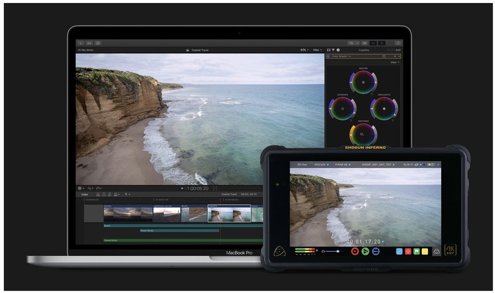 ProRes RAW combines the advantages of RAW with the awesome performance of ProRes. — Photo courtesy of Apple