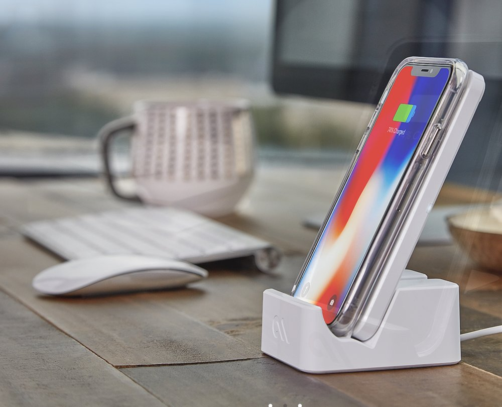 photo image The Power Pad is a sturdy, powerful, flexible iPhone wireless charger