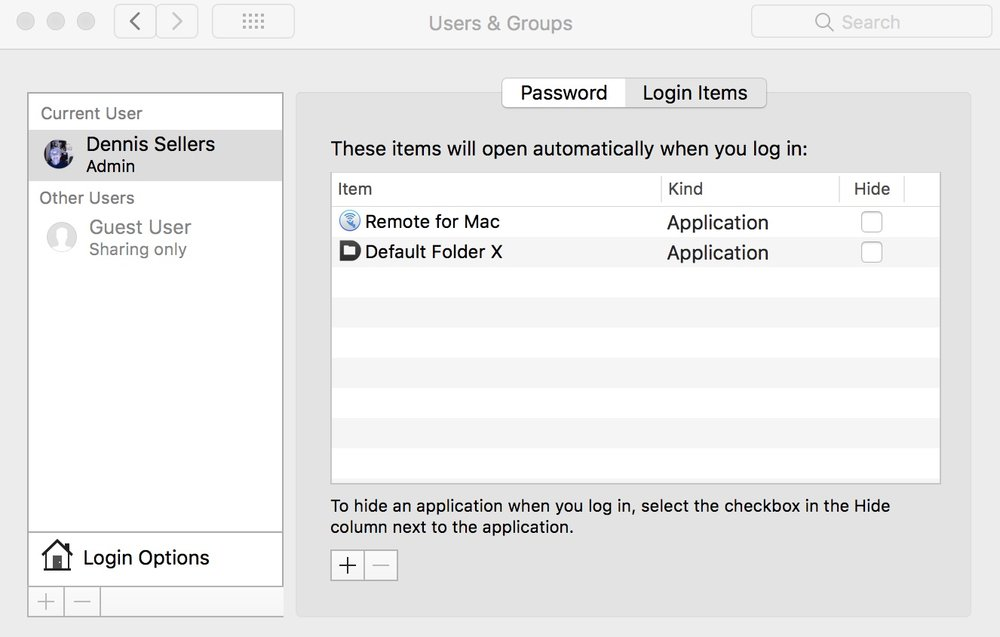 photo image How to manage apps that automatically open when you log into macOS High Sier