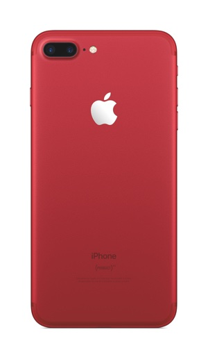 photo image iPhone 7 and iPhone 7 Plus (PRODUCT)RED Special Edition now at Apple retail stores