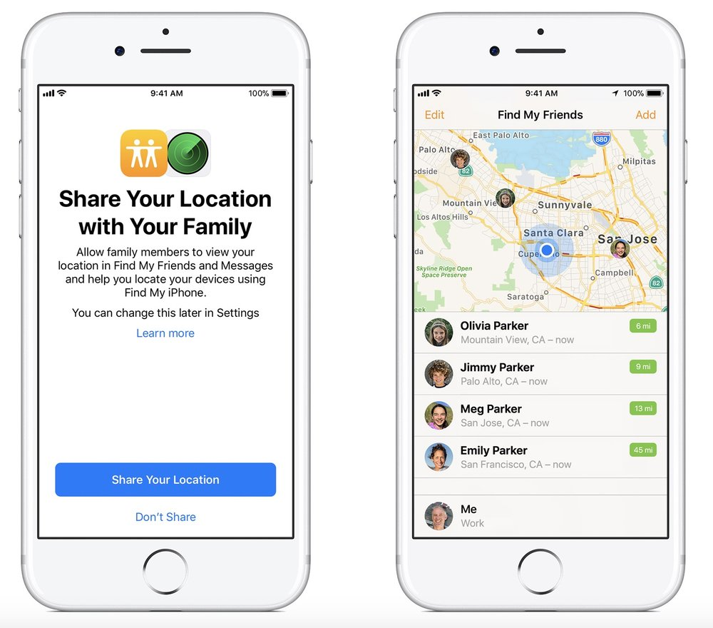 photo image How to use location sharing in iOS 11