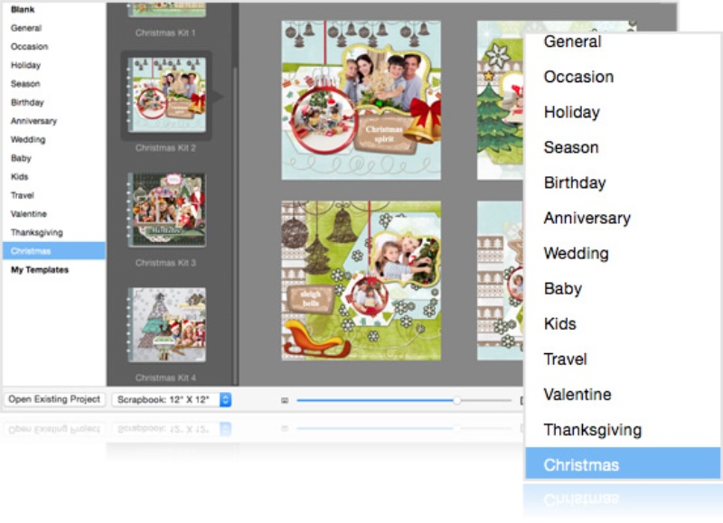 photo image Scrapbook Crafter for macOS makes digital scrapbook creation easy and fun