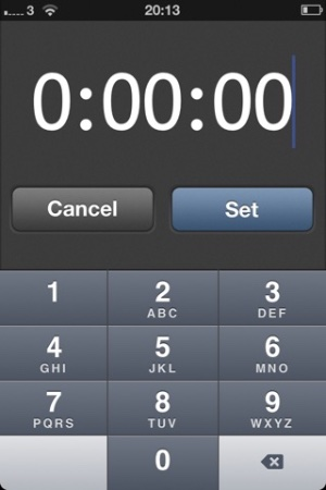 photo image How about an iPhone mute function with a timer feature?