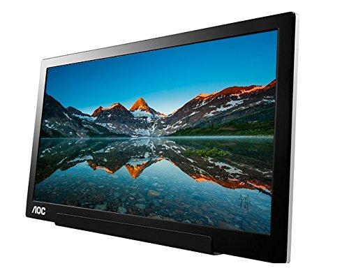 AOC's I1601FWUX portable USB-C monitor