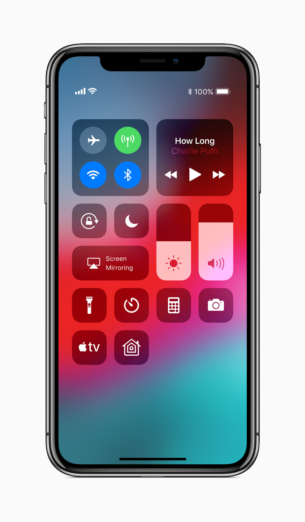For Apple TV users, the Apple TV remote app is automatically added to the iOS 12 control center