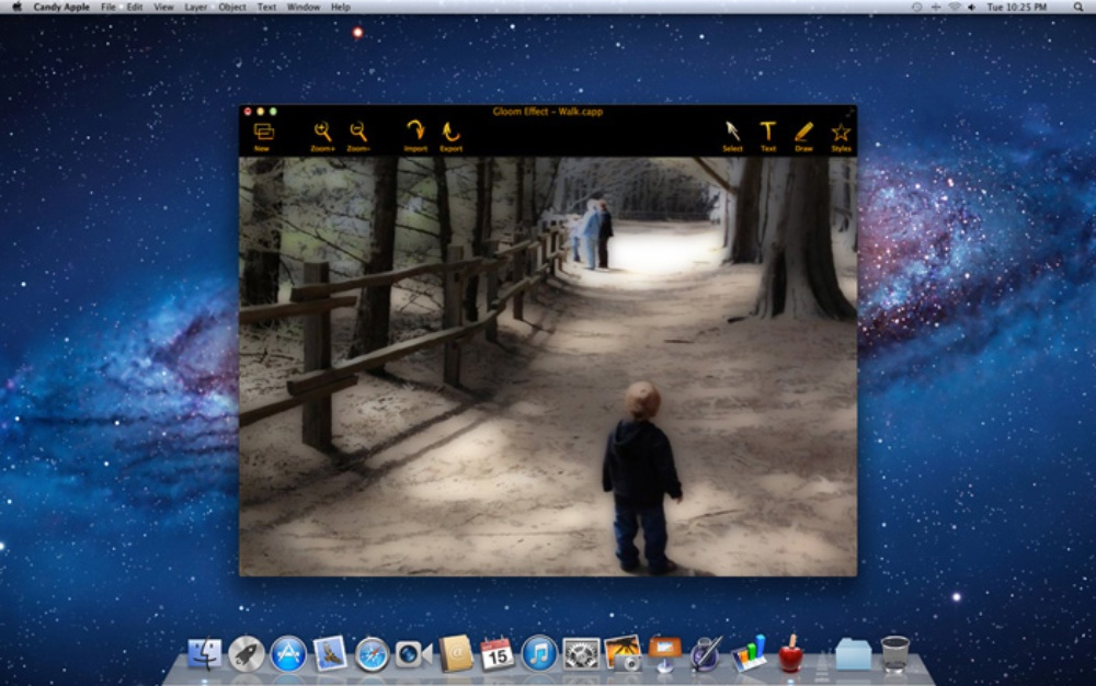 photo image Candy Apple for macOS simplifies the process of creating logos, banners, icons, more