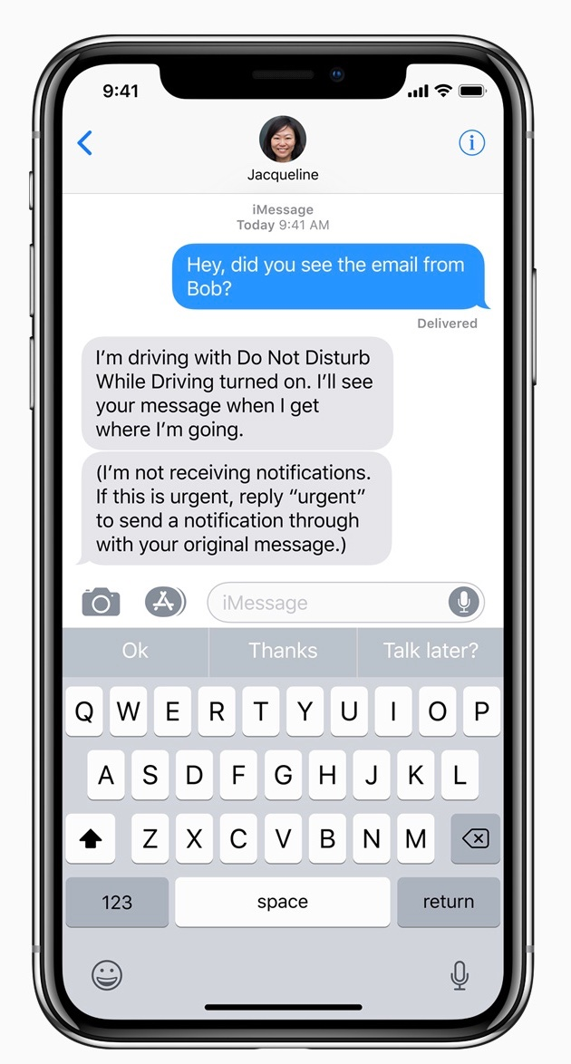 photo image Patent trollin': Apple sued over iOS 11's 'Do Not Disturb' feature