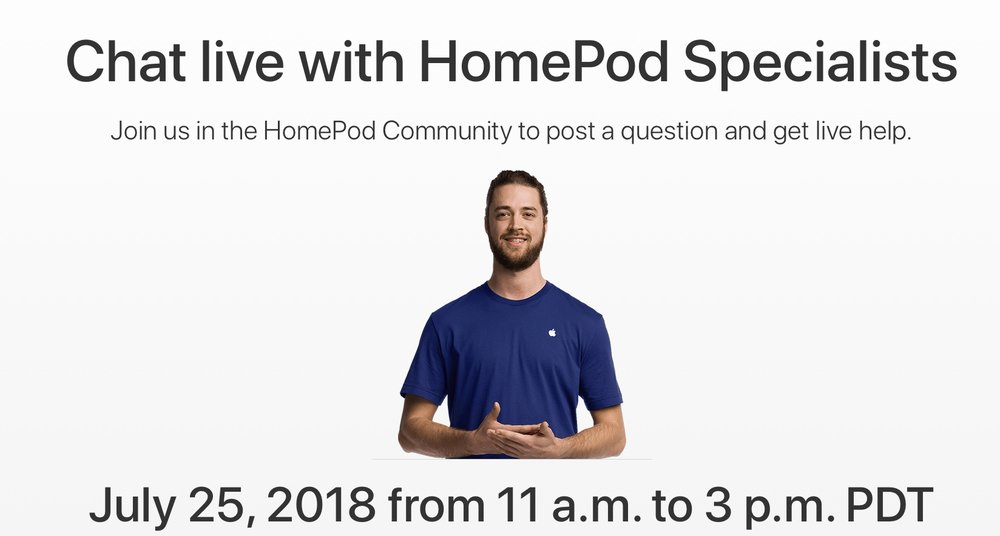 Apple to hold a HomePod live event on July 25