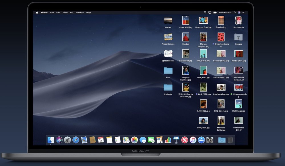 photo image How to use Stacks in macOS Mojave