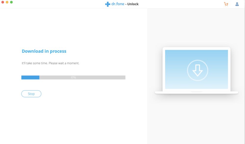 The latest firmware for your device is automatically downloaded to your Mac or PC