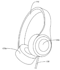 photo image Apple granted a patent for over-the-ear headphones with adjustable band