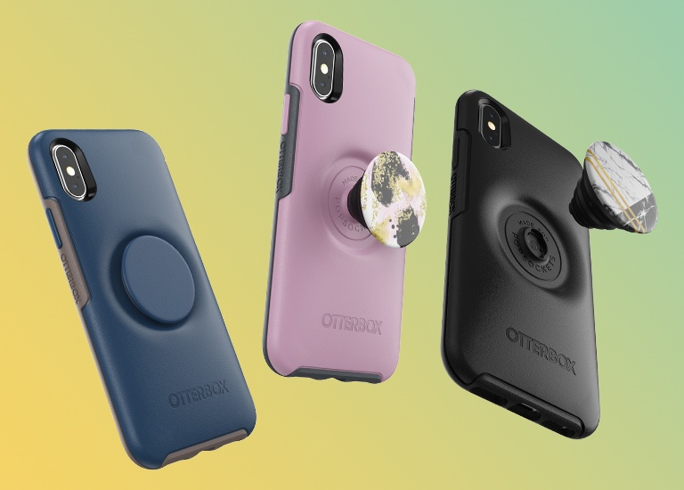 photo of OtterBox, PopSockets team up for the Otter + Pop Symmetry Series of iPhone cases image