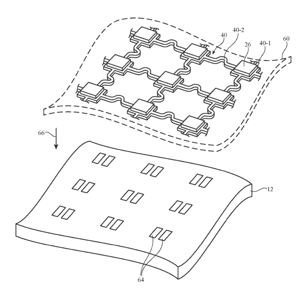 photo image Apple patent filings hint at smart clothing and smart furniture
