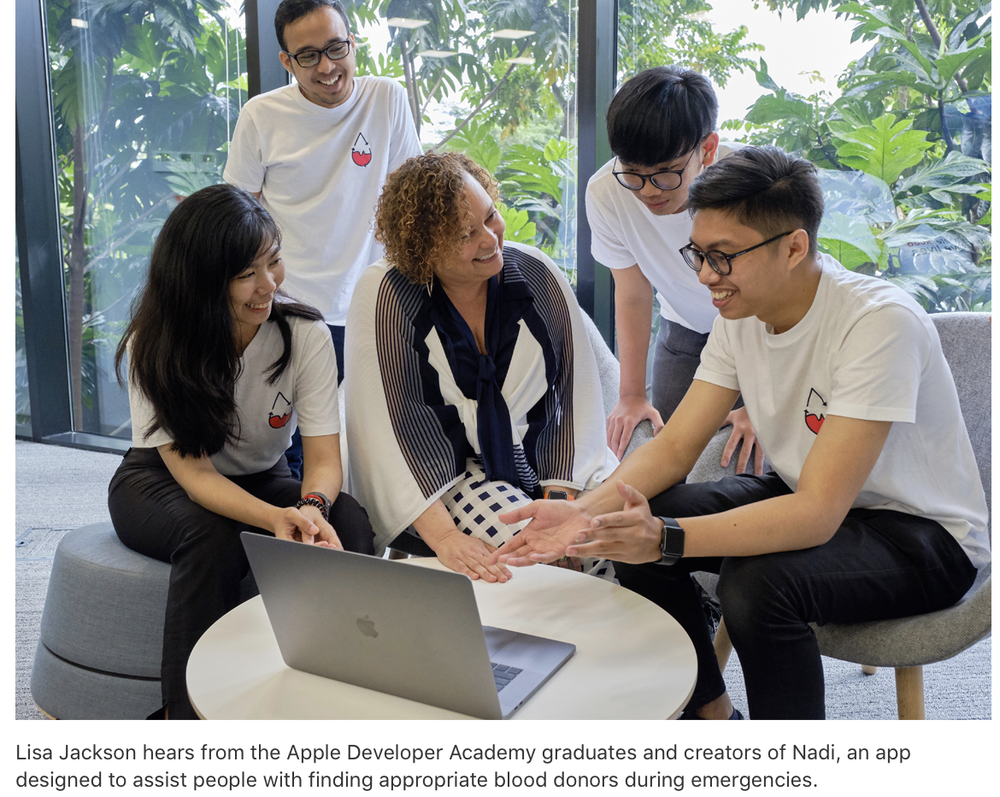 photo of Apple expands coding initiatives in Singapore, Indonesia image