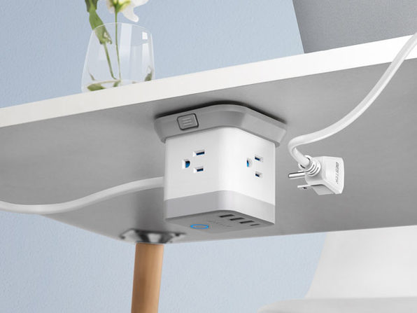 photo of Quick & Tidy Device Charging with the BESTEK Mountable Power Strip image