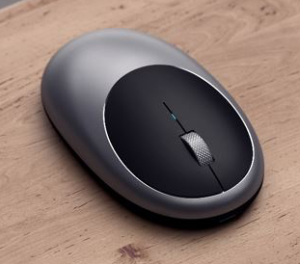 photo of Satechi launches rechargeable USB-C Aluminum M1 Bluetooth mouse image