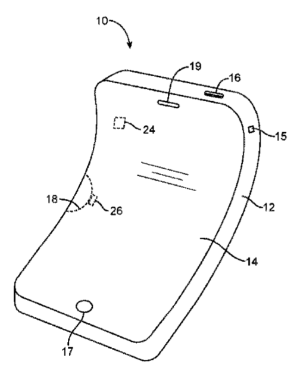 photo of Apple patent filing hints at more flexible iPhones and other devices image