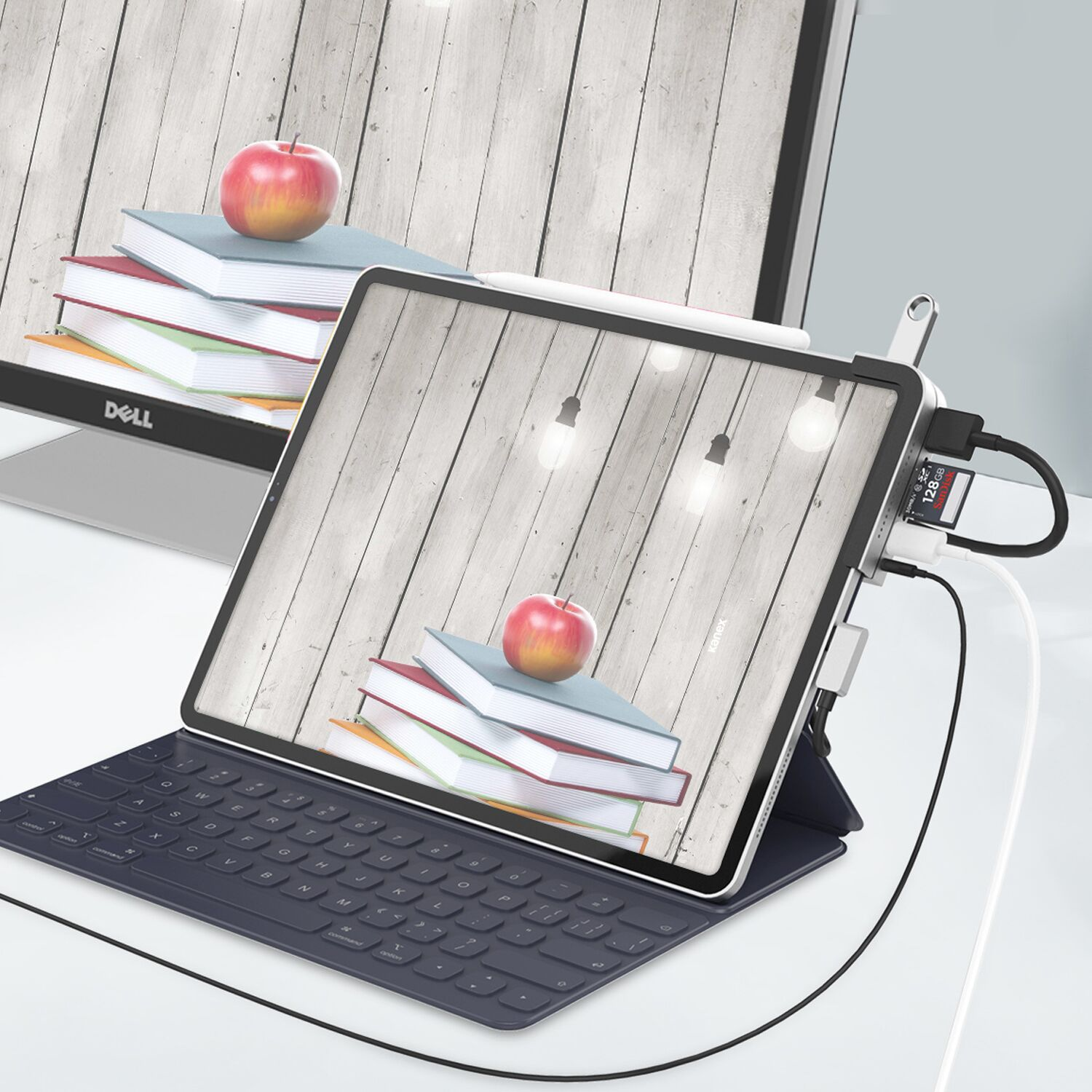 photo of Kanex announces unique 6-in-1 Multiport USB-C Docking Station for iPad Pro image