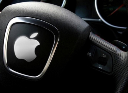 photo of Apple files for a patent for  'wireless charging alignment systems' for an electric car image
