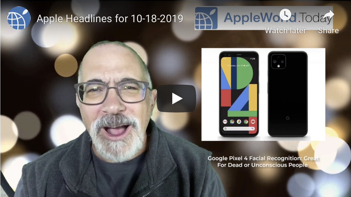photo of Daily Apple Headlines for October 18, 2019 image