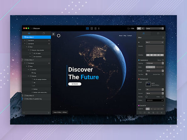 photo of Create Responsive Websites with No Coding: Blocs 3 Website Builder for Mac image
