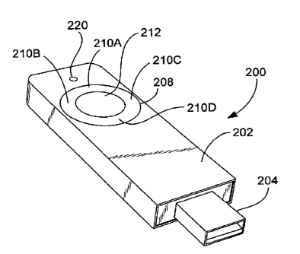 photo of Apple granted patent for a 'highly portable media device' image