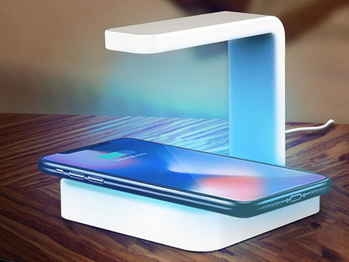 photo of Get a 2-in-1 Wireless Charger and UV Phone Sanitizer for $37.99 Today image