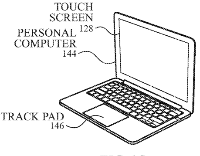 photo of Apple patent for 'input device with haptic feedback' hints at touchscreen Macs image