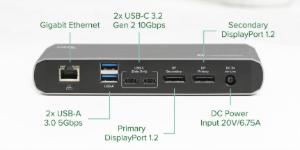 photo of Plugable debuts new Thunderbolt 3 Dual Display Docking Station image