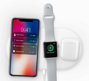 photo of Apple granted patent for an AirPower-like device image