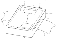 photo of Future Apple Watches may have a wireless antenna array build into the display image