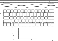 photo of Future Mac laptops may sport virtual, resizable, illuminated trackpads image