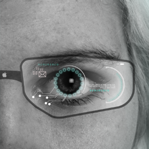 photo of 'Apple Glasses' could provide a 'predictive, foveated virtual reality system' image