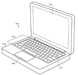 photo of Apple patent is for a Mac keyboard with adjustable feedback image