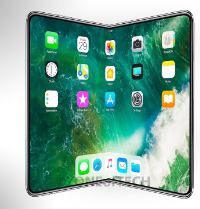 photo of 'Foldable cover and display' patent filing hints that Apple is working on a 'foldable' iPhone image