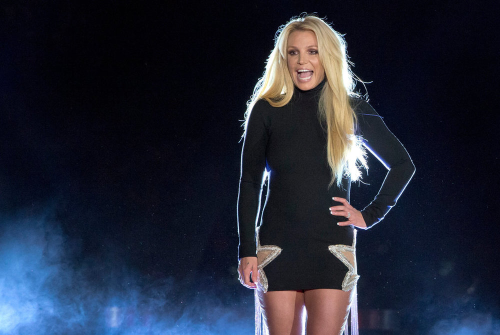 """""""Once Upon a One More Time,"""" a musical comedy featuring 23 songs from Britney Spears's catalog, will start in Chicago this fall. Steve Marcus/Las Vegas Sun, via Associated Press"""