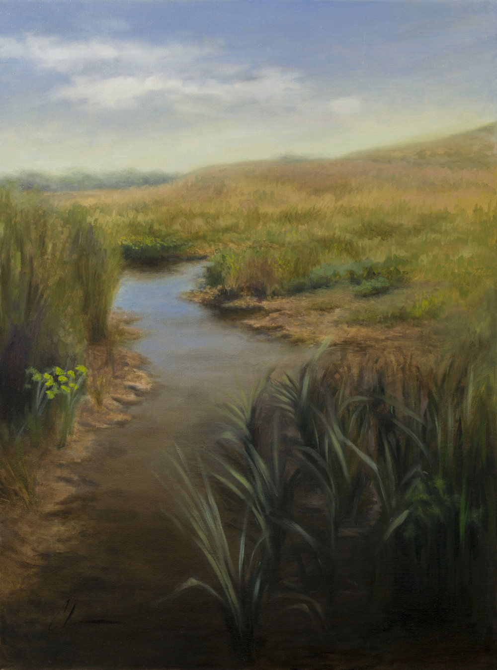 """Headwaters"", 18x24, oil on linen; please direct inquiries to  Regency Parkway Art"