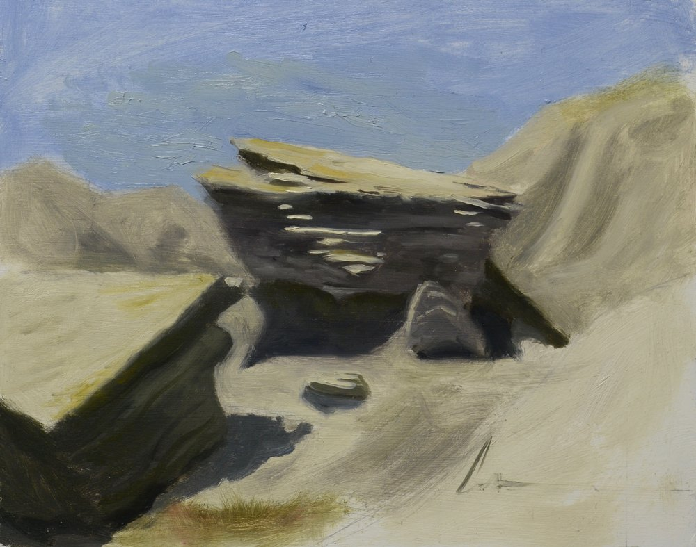"""Color Study: Toadstool Park"", 8x10, oil on panel"