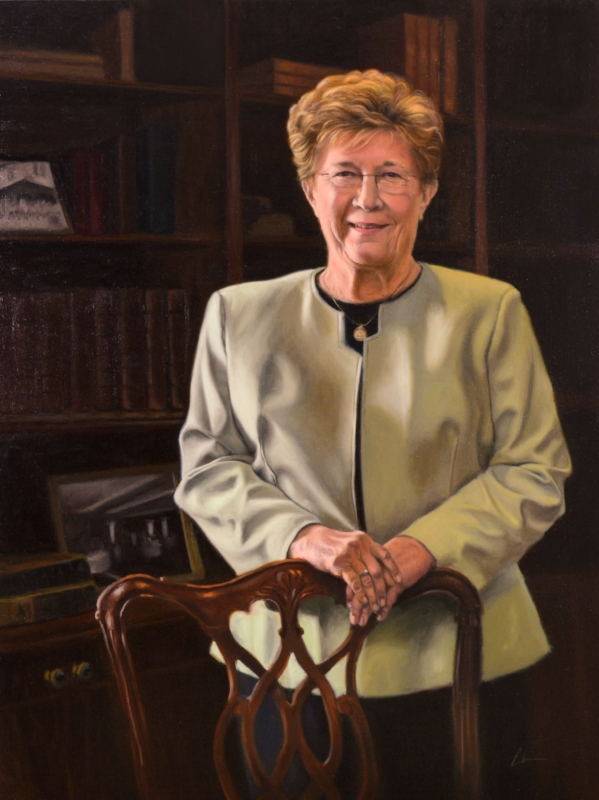 Portrait of Dianne Desler, former Head of School at Brownell Talbot