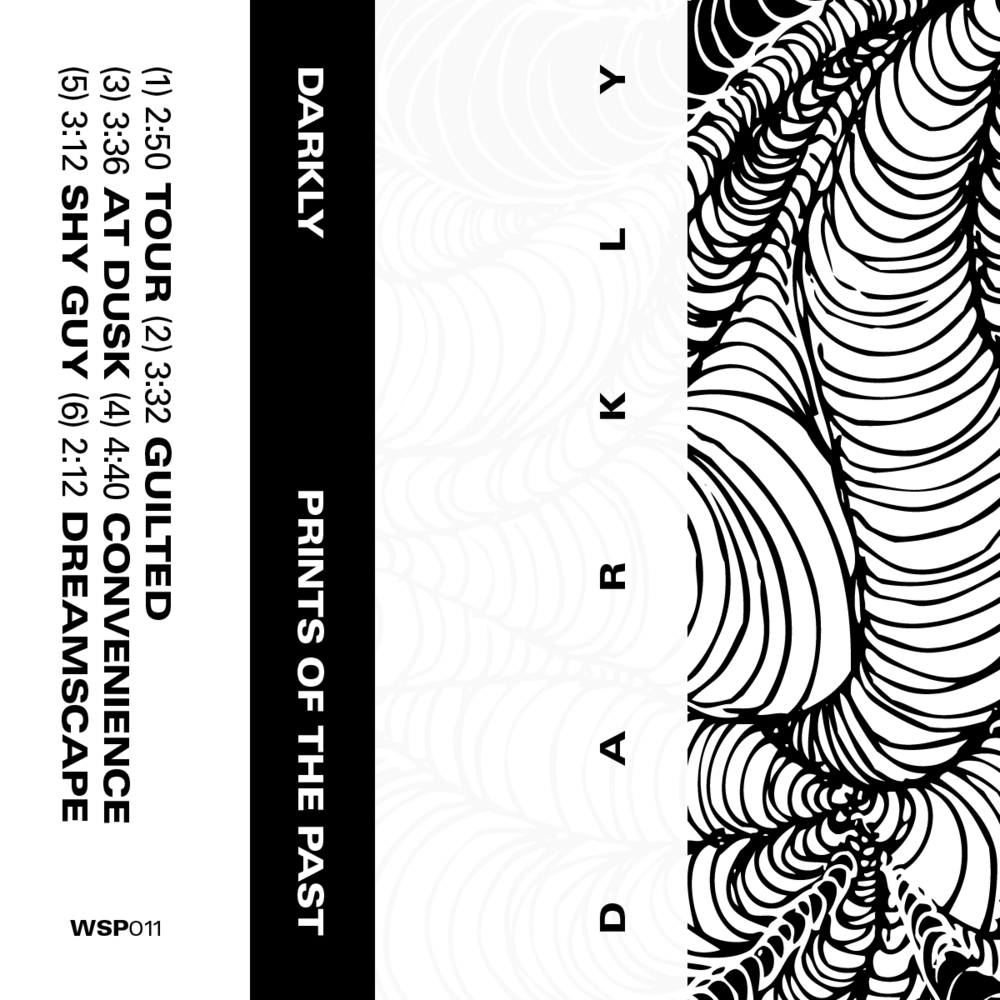 Darkly  -    Prints Of The Past            White Cassette Tape (WSP011)
