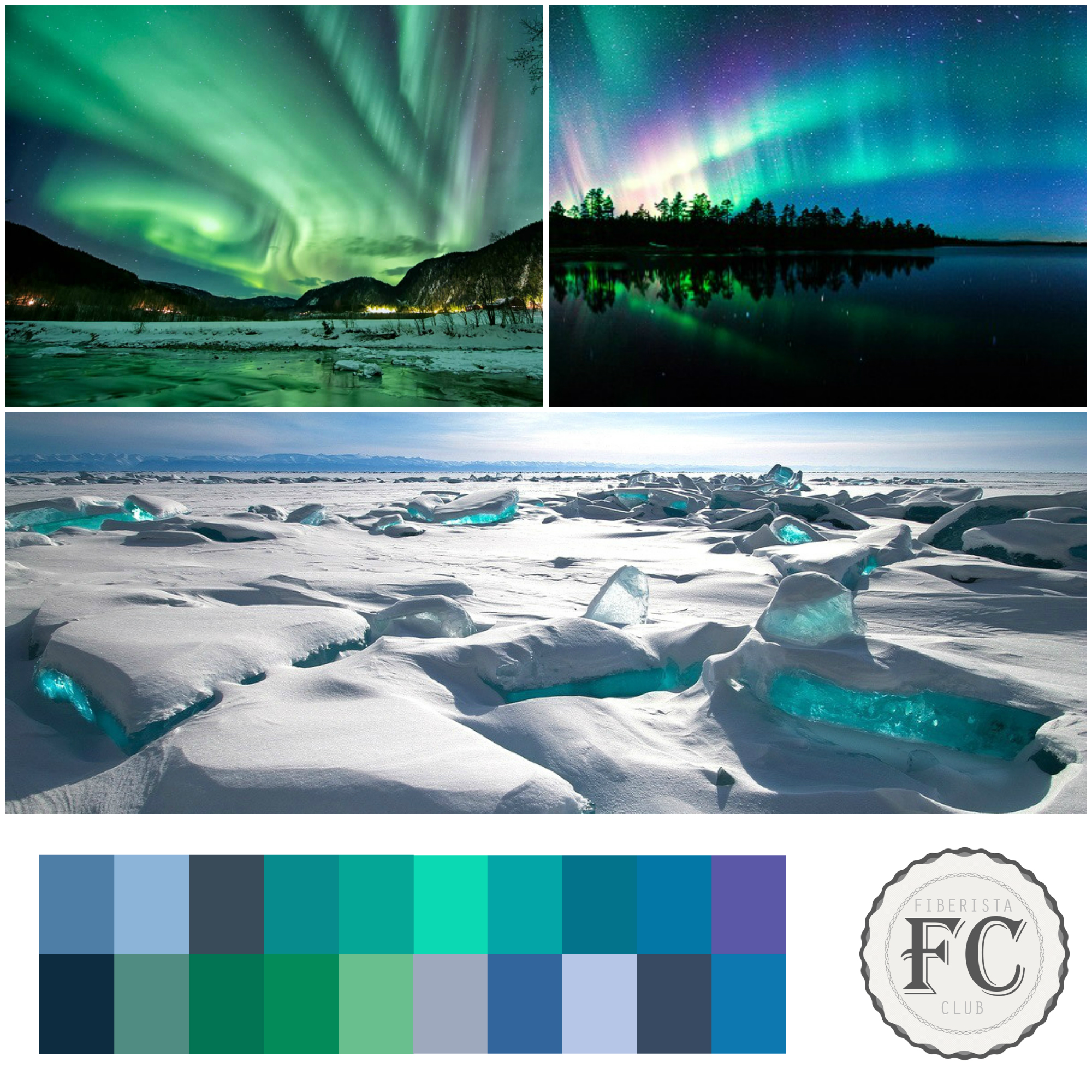 Our cool mood board for January 2015.