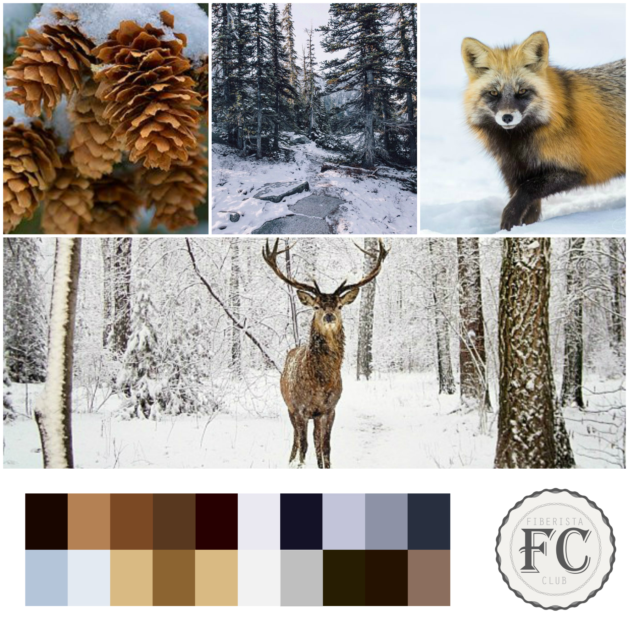 Our neutral mood board for January 2015.