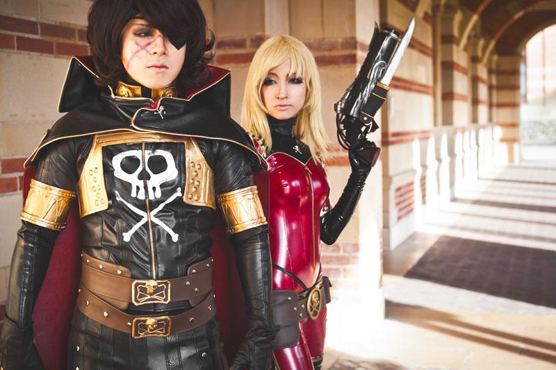 Captain Harlock & Kei Yuki