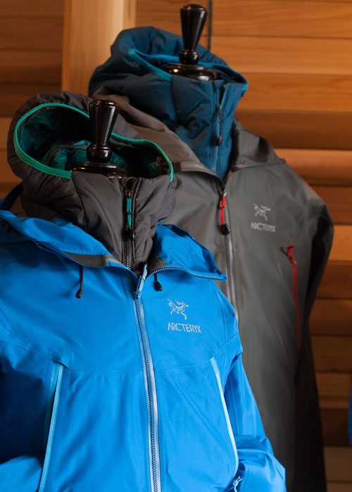 Arc'teryx jacket dealer in Tofino.