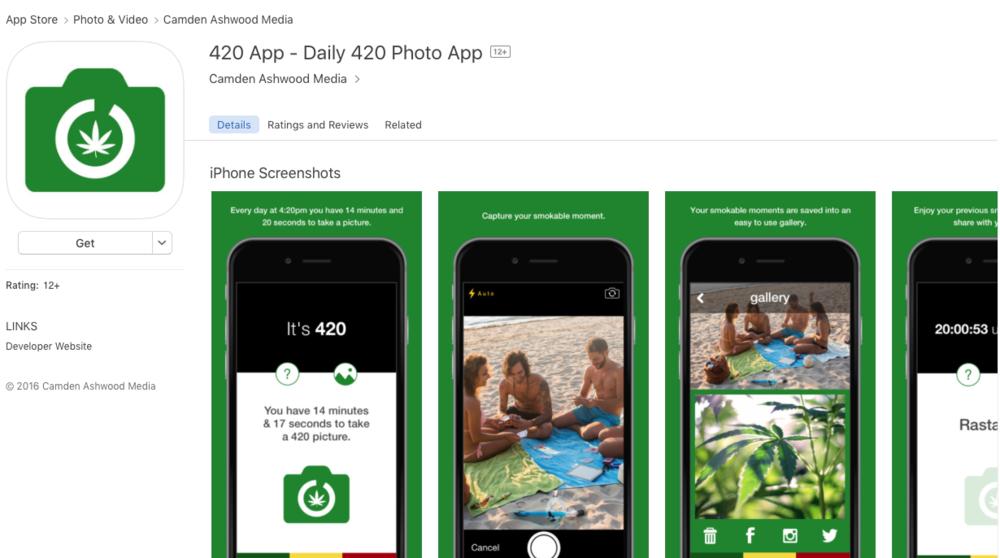 The 420 App - Daily 420 App