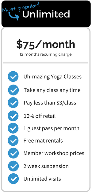 Yoga Vie Membership