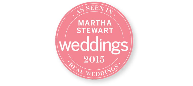 Washington DC Wedding published in Martha Stewart Real Weddings.